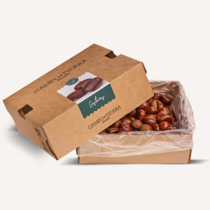 Castañas caja de 2,5kg con 60/80 unidades
