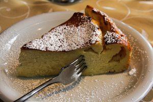 tarta de queso y ciruelas Claudia