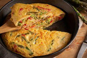 Tortilla de Patatas con Espárragos (Vegetal)